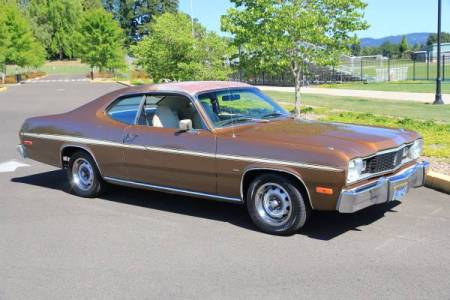 1975 Plymouth Duster right front