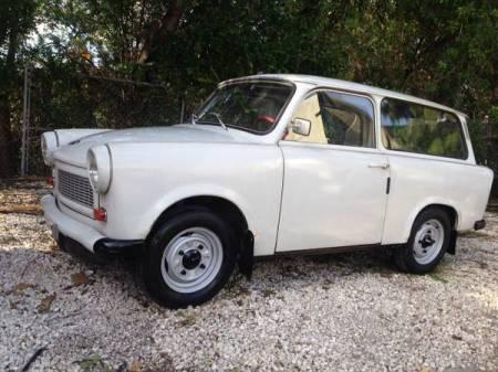 1978 Trabant 601S Kombi left front