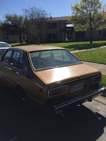 1979 Toyota Corolla left rear