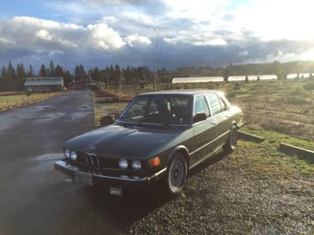 1980 BMW 528i left front