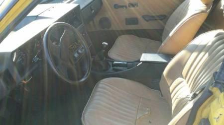 1980 Triumph TR7 interior