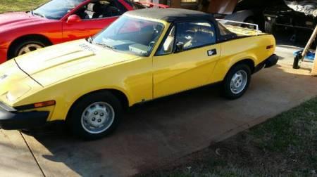 1980 Triumph TR7 left front