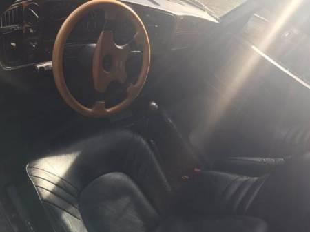 1988 Saab 900 SPG interior