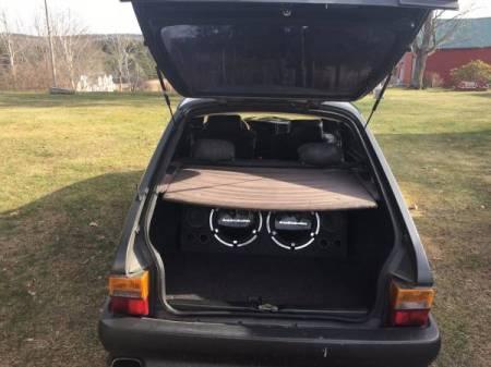 1988 Saab 900 SPG trunk