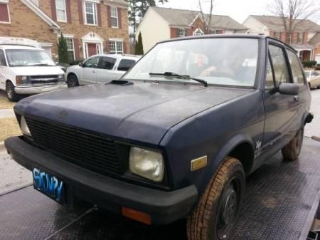 1988 Yugo 45 left front