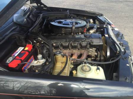 1989 Mercedes 300CE engine