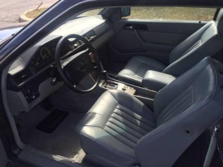 1989 Mercedes 300CE interior