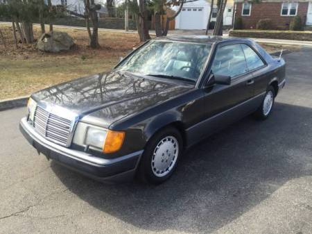 1989 Mercedes 300CE left front