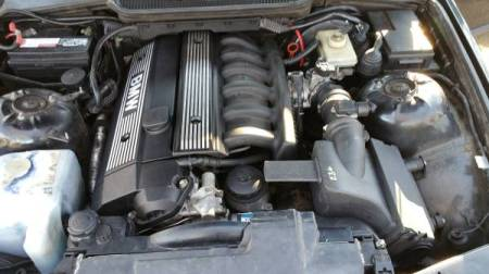 1995 BMW 328ti engine