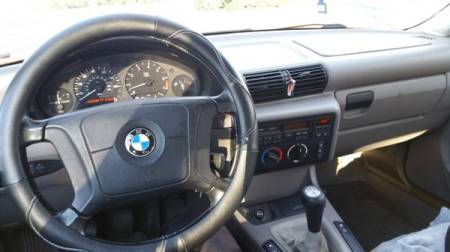 1995 BMW 328ti interior