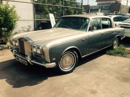 1969 Rolls Royce Silver Shadow left front