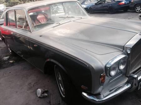 1969 Rolls Royce Silver Shadow right side