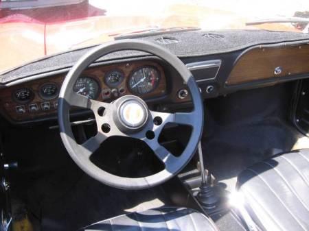 1970 Fiat 850 Spider 3 interior