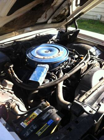 1970 Ford LTD XL engine