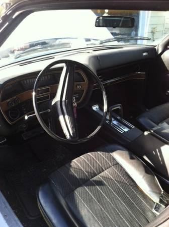 1970 Ford LTD XL interior