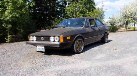 1976 VW Scirocco left front