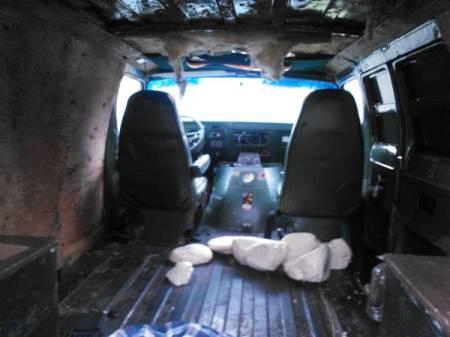 1977 Dodge Tradesman interior
