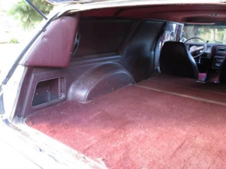 1980 Chevrolet Malibu Sedan Delivery interior trunk