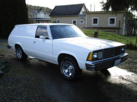 1980 Chevrolet Malibu Sedan Delivery right front