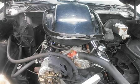 1980 Pontiac Trans Am engine