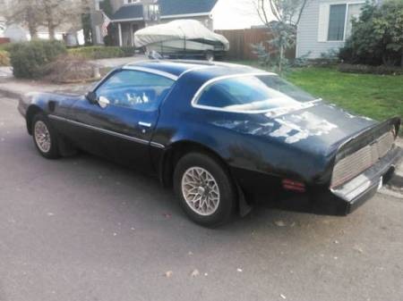 1980 Pontiac Trans Am left rear