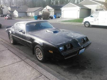 1980 Pontiac Trans Am right front