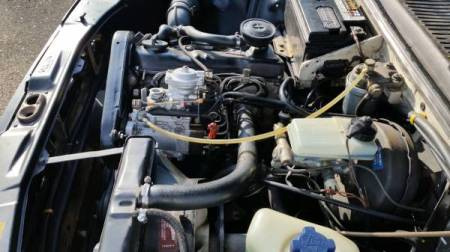 1980 VW Dasher Turbodiesel engine