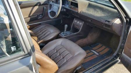 1980 VW Dasher Turbodiesel interior