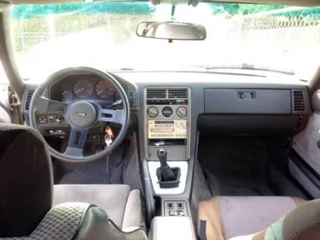 1985 Mazda RX-7 interior