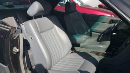 1988 Mercedes 300CE interior