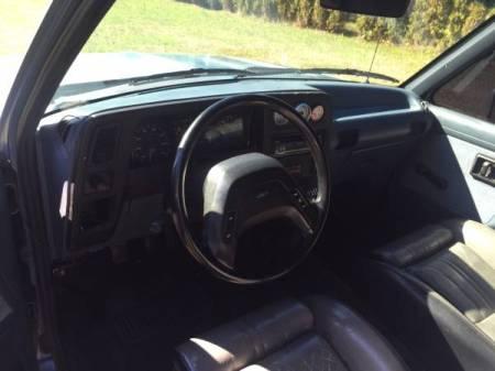1989 Ford Ranger turbo interior