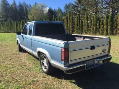 1989 Ford Ranger turbo left rear