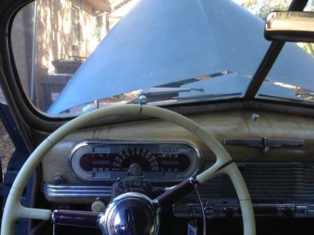1941 Oldsmobile Dynamic 78 interior