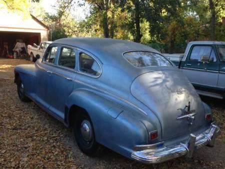 1941 Oldsmobile Dynamic 78 left rear
