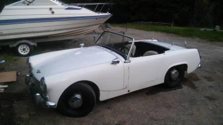 1964 Austin Healey Sprite left front