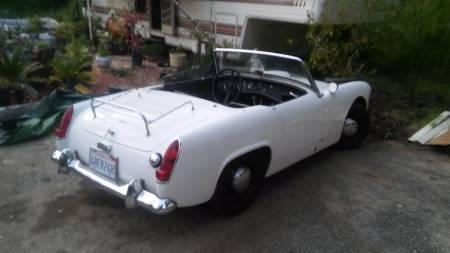 1964 Austin Healey Sprite right rear