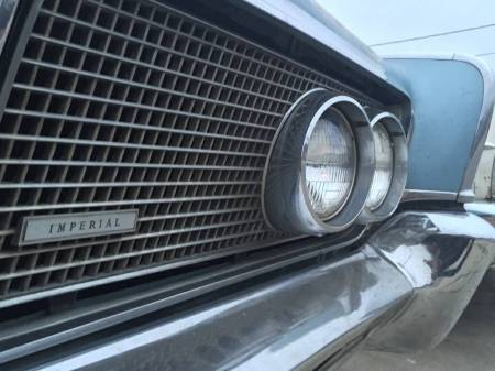 1964 Imperial Crown grill