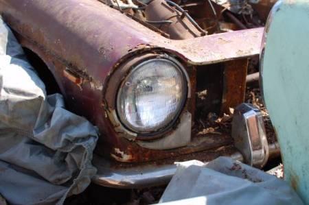 1964 Innocenti S Spider front detail
