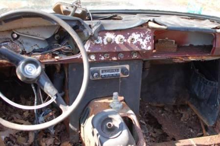 1964 Innocenti S Spider interior