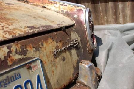 1964 Innocenti S Spider rear detail