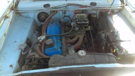 1966 Dodge Dart Wagon engine