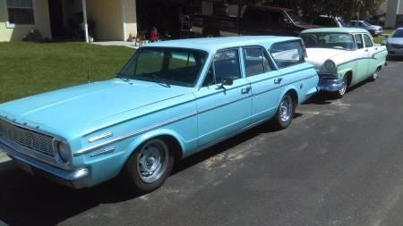 1966 Dodge Dart Wagon left front