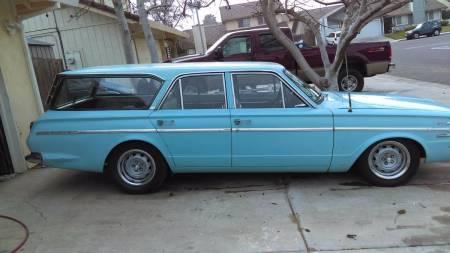 1966 Dodge Dart Wagon right