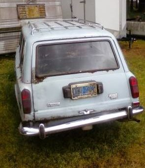 1973 Fiat 124 Wagon left rear