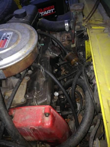 1974 Fiat 128 engine