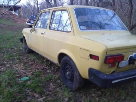 1974 Fiat 128 left rear