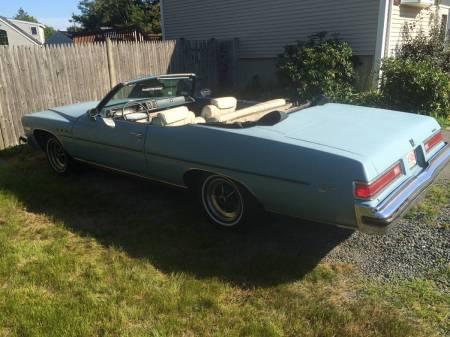 1975 Buick LeSabre convertible left rear