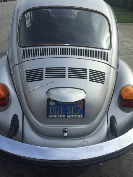 1976 VW Beetle rear