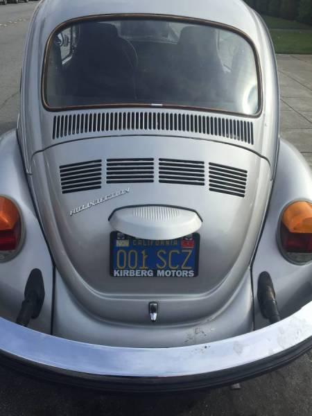 1976 VW Beetle rear