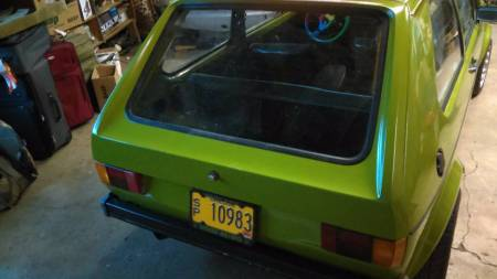 1976 VW Rabbit rear